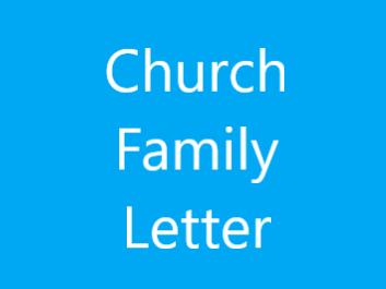 Church Family Letter