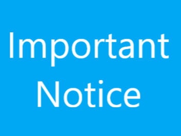 Notice for Members